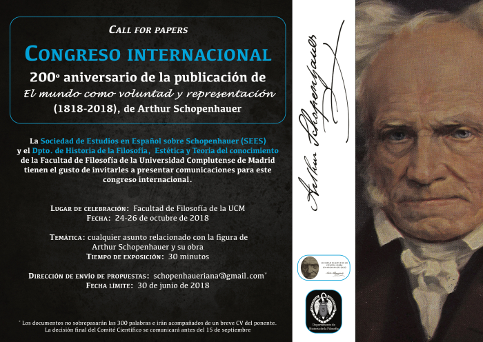 call-for-papers-congreso-schopenhauer