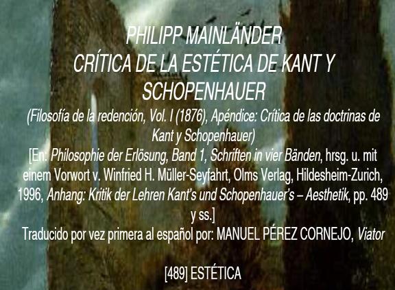 mainlaender_critica